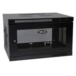 """SmartRack 6U Wall-Mount Standard-Depth Rack Enclosure Cabinet, Black"" (tripp_SRW6U)"