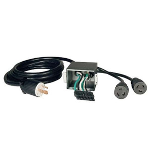 """Corded UPS Backplate Outlet Kit for SU6000RT3UHV UPS, 200/208/240V Input/Output, NEMA L6-30R"" (tripp_SUPDM11)"