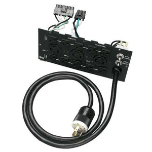 """240V Corded UPS Backplate Outlet Kit for SU6000RT3, L6-30R, L6-20R, 5-15/20R"" (tripp_SUPDM13)"