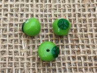1 | Green Apple Glass Beads