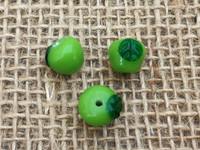 1 | Green Apple Glass Beads
