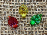 3 | Autumn Leaves Glass Beads