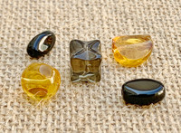 5 | Tawny Topaz Glass Beads