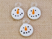 1 | Snowman Lampwork Glass Charms