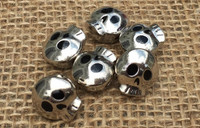 Boy Skull Large Hole Beads