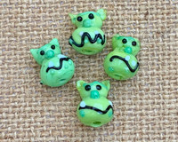 1 | Ogre Head Lampwork Glass Beads