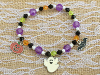Ghost & Friends Halloween Bracelet