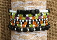 Halloween Stackable Beaded Bracelet Kits
