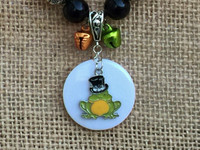 Mr. T.H. Frog Chunky Necklace