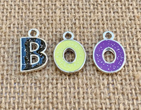 3 | BOO Halloween Enamel Charms