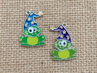 1 | Magic Frog Enamel Charm