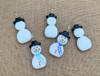 Snowman Pendant front & back