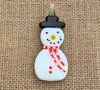 Snowman Pendant Red Scarf