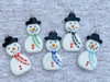 Snowman Pendants in Multiple Colors