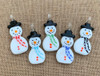 Snowman Pendants in Multiple Colors