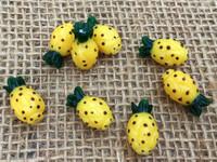 Pineapple Lampwork Glass Beads