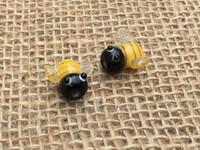 1 | Honey Bee Lampwork Glass Bead