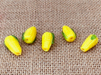 1 | Corn on the Cob Lampwork Glass Beads