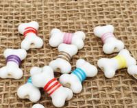 1 | Fancy Dog Bones Lampwork Glass Beads