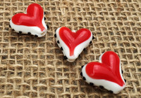 1 | Hollywood Heart Glass Beads