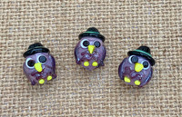 1 | Witch Owl Bead Lampwork Glass