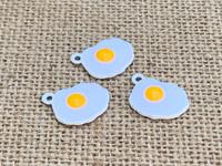 1 | Fried Egg Enamel Charm