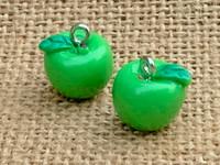 1   Green Apple Charm
