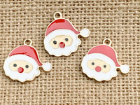 1 | Santa Claus Enamel Charm