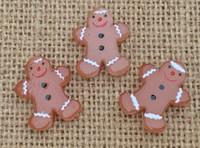 1 | Gingerbread Man Lampwork Glass Bead