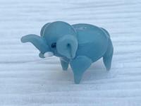 1 | Gray Elephant Lampwork Glass Bead