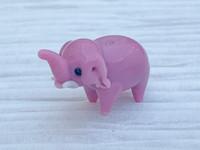 1 | Pink Elephant Lampwork Glass Bead