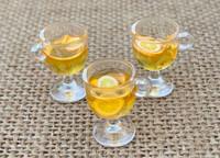 1 | Yellow Orange Resin Cocktail Charms
