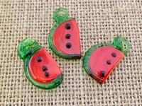 1 | Slice of Watermelon Lampwork Glass Charm