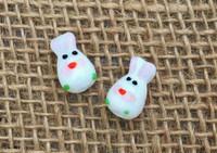 1 | Easter Egg Bunny Lampwork Glass Beads
