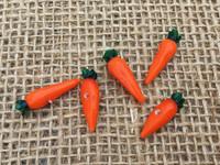1 | Orange Carrots Lampwork Beads