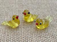 1 | Yellow Tropical Island Bird Beads