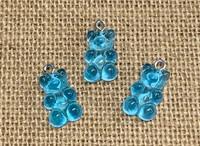 1 | Blue Gummy Bear Acrylic Charms