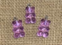 1 | Purple Gummy Bear Acrylic Charms