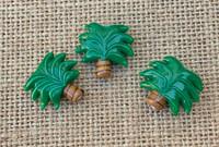 1   Palm Tree Lampwork Glass Bead