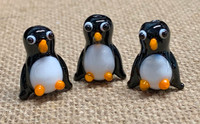 1 | Chubby Penguin Lampwork Beads