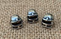 1 | Football Helmet - Large Hole Beads
