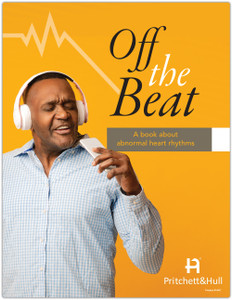 Off the Beat: a book about abnormal heart rhythms (164C) - front cover