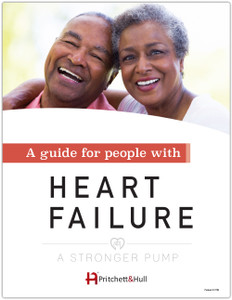 A Stronger Pump: a guide for people with heart failure (27J) front cover