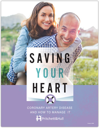 Saving Your Heart: Coronary Artery Disease and How to Manage It (399A) - front cover