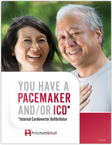 You have a Pacemaker and/or ICD (03H) - front cover
