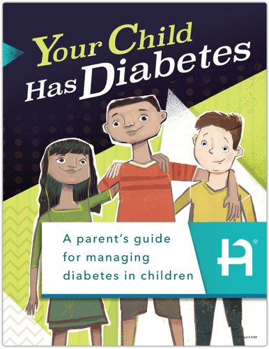 Your Child Has Diabetes (425B) - front cover