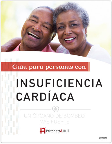 A Stronger Pump: a guide for people with heart failure (Spanish) (27JS) front cover