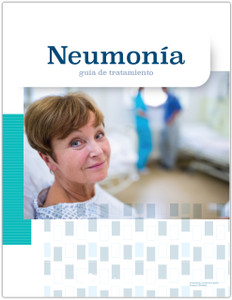 Pneumonia: a treatment guide Spanish front cover