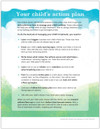 Ped Asthma Treatment Plan Tearpad (50 sheets per pad) (273A) - back side