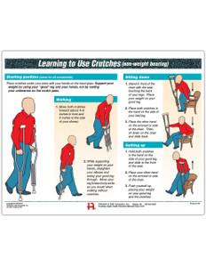 Crutches Use Tearpad (50 sheets per pad)